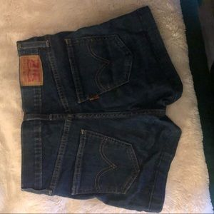 Levi Shorts with zip sides *vntg look high waist*